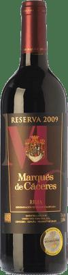 27,95 € Envoi gratuit | Vin rouge Marqués de Cáceres Reserva D.O.Ca. Rioja La Rioja Espagne Tempranillo, Grenache, Graciano Bouteille Magnum 1,5 L