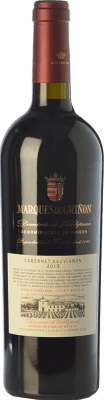 32,95 € Envío gratis | Vino tinto Marqués de Griñón Crianza D.O.P. Vino de Pago Dominio de Valdepusa Castilla la Mancha España Cabernet Sauvignon Botella 75 cl