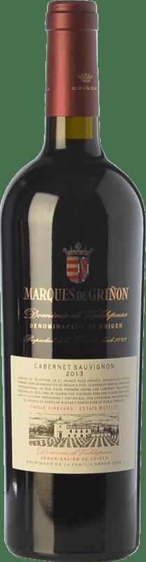 22,95 € Envoi gratuit | Vin rouge Marqués de Griñón Crianza D.O.P. Vino de Pago Dominio de Valdepusa Castilla La Mancha Espagne Cabernet Sauvignon Bouteille 75 cl