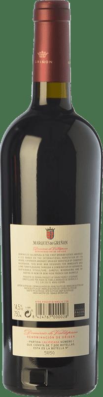 22,95 € Free Shipping | Red wine Marqués de Griñón Crianza D.O.P. Vino de Pago Dominio de Valdepusa Castilla la Mancha Spain Cabernet Sauvignon Bottle 75 cl