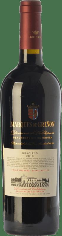 37,95 € Free Shipping | Red wine Marqués de Griñón Reserva D.O.P. Vino de Pago Dominio de Valdepusa Castilla la Mancha Spain Graciano Bottle 75 cl