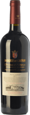 21,95 € Free Shipping | Red wine Marqués de Griñón Crianza D.O.P. Vino de Pago Dominio de Valdepusa Castilla la Mancha Spain Petit Verdot Bottle 75 cl | Thousands of wine lovers trust us to get the best price guarantee, free shipping always and hassle-free shopping and returns.