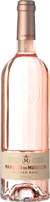 32,95 € Envio grátis | Vinho rosé Marqués de Murrieta Primer Rosé D.O.Ca. Rioja La Rioja Espanha Mazuelo Garrafa 75 cl. | Milhares de amantes do vinho confiam em nós com a garantia do melhor preço, envio sempre grátis e compras e devoluções sem complicações.