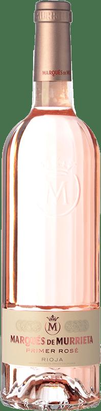 23,95 € Envío gratis | Vino rosado Marqués de Murrieta Primer Rosé D.O.Ca. Rioja La Rioja España Mazuelo Botella 75 cl