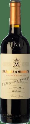 35,95 € Envío gratis | Vino tinto Marqués de Murrieta Gran Reserva D.O.Ca. Rioja La Rioja España Tempranillo, Garnacha, Graciano, Mazuelo Botella 75 cl