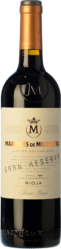 45,95 € Free Shipping | Red wine Marqués de Murrieta Gran Reserva D.O.Ca. Rioja The Rioja Spain Tempranillo, Grenache, Graciano, Mazuelo Bottle 75 cl