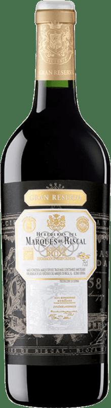 41,95 € Envoi gratuit   Vin rouge Marqués de Riscal Gran Reserva D.O.Ca. Rioja La Rioja Espagne Tempranillo Bouteille 75 cl