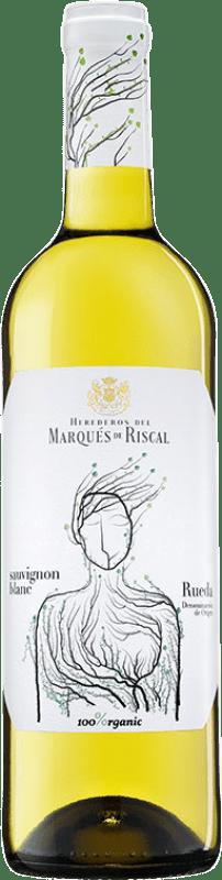 9,95 € Free Shipping | White wine Marqués de Riscal D.O. Rueda Castilla y León Spain Sauvignon White Bottle 75 cl