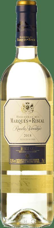 9,95 € Free Shipping | White wine Marqués de Riscal D.O. Rueda Castilla y León Spain Verdejo Bottle 75 cl