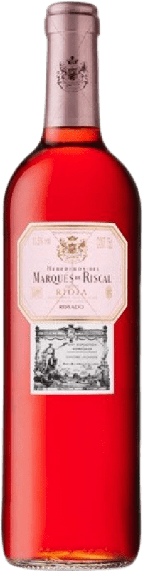 6,95 € Free Shipping | Rosé wine Marqués de Riscal D.O.Ca. Rioja The Rioja Spain Tempranillo, Grenache Bottle 75 cl