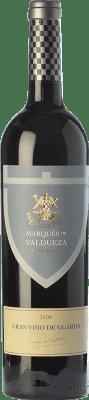 26,95 € Free Shipping | Red wine Marqués de Valdueza Vino de Guarda Crianza I.G.P. Vino de la Tierra de Extremadura Estremadura Spain Tempranillo, Merlot, Syrah, Cabernet Sauvignon Bottle 75 cl