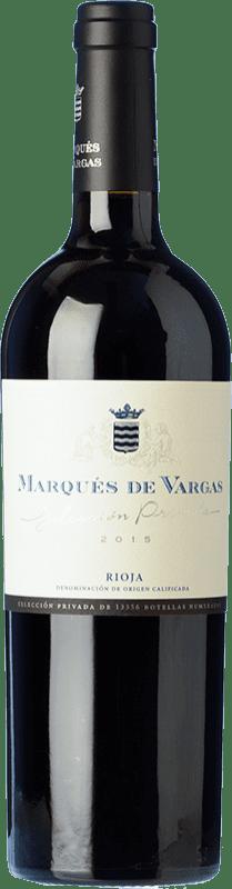 46,95 € Envío gratis | Vino tinto Marqués de Vargas Reserva Privada Reserva D.O.Ca. Rioja La Rioja España Tempranillo, Garnacha, Mazuelo Botella 75 cl