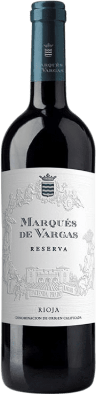 21,95 € Free Shipping | Red wine Marqués de Vargas Reserva D.O.Ca. Rioja The Rioja Spain Tempranillo, Grenache, Mazuelo Bottle 75 cl