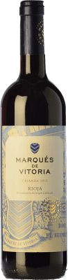 6,95 € Free Shipping | Red wine Marqués de Vitoria Crianza D.O.Ca. Rioja The Rioja Spain Tempranillo Bottle 75 cl