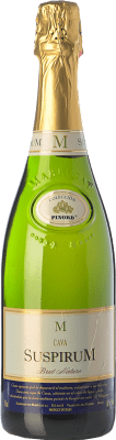 13,95 € Free Shipping | White sparkling Marrugat Suspirum Brut Nature 2010 D.O. Cava Catalonia Spain Macabeo, Xarel·lo, Chardonnay, Parellada Bottle 75 cl. | Thousands of wine lovers trust us to get the best price guarantee, free shipping always and hassle-free shopping and returns.