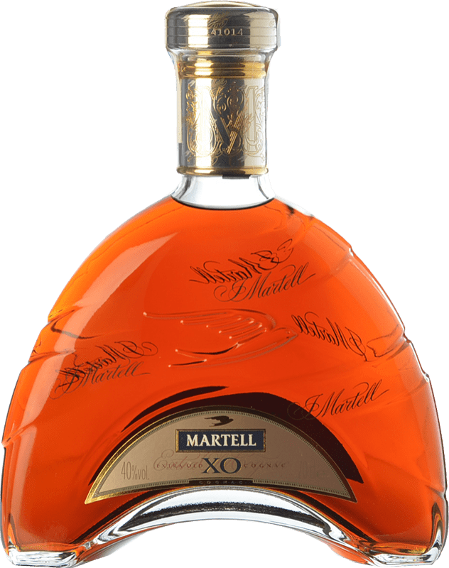146,95 € Free Shipping | Cognac Martell X.O. Extra Old A.O.C. Cognac France Bottle 70 cl
