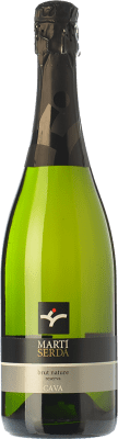 9,95 € Free Shipping | White sparkling Martí Serdà Brut Nature Reserva D.O. Cava Catalonia Spain Macabeo, Xarel·lo, Parellada Bottle 75 cl. | Thousands of wine lovers trust us to get the best price guarantee, free shipping always and hassle-free shopping and returns.