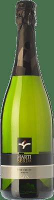 8,95 € Free Shipping | White sparkling Martí Serdà Brut Nature Reserva D.O. Cava Catalonia Spain Macabeo, Xarel·lo, Parellada Bottle 75 cl