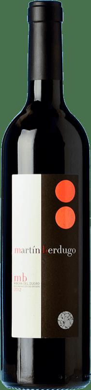 27,95 € Free Shipping | Red wine Martín Berdugo MB Crianza D.O. Ribera del Duero Castilla y León Spain Tempranillo Bottle 75 cl