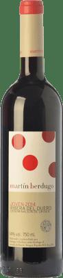 6,95 € Envío gratis | Vino tinto Martín Berdugo Joven D.O. Ribera del Duero Castilla y León España Tempranillo Botella 75 cl