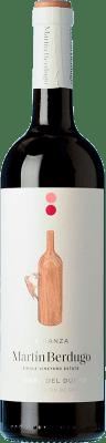 9,95 € Envío gratis | Vino tinto Martín Berdugo Crianza D.O. Ribera del Duero Castilla y León España Tempranillo Botella 75 cl