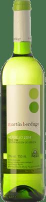 6,95 € Envío gratis | Vino blanco Martín Berdugo D.O. Rueda Castilla y León España Verdejo Botella 75 cl