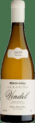 33,95 € Envío gratis | Vino blanco Martín Códax Vindel Crianza D.O. Rías Baixas Galicia España Albariño Botella 75 cl