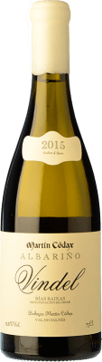 34,95 € Free Shipping | White wine Martín Códax Vindel Crianza D.O. Rías Baixas Galicia Spain Albariño Bottle 75 cl | Thousands of wine lovers trust us to get the best price guarantee, free shipping always and hassle-free shopping and returns.