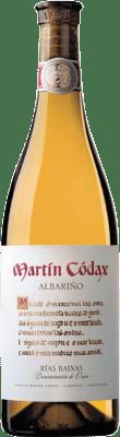 9,95 € Envío gratis | Vino blanco Martín Códax D.O. Rías Baixas Galicia España Albariño Botella 75 cl