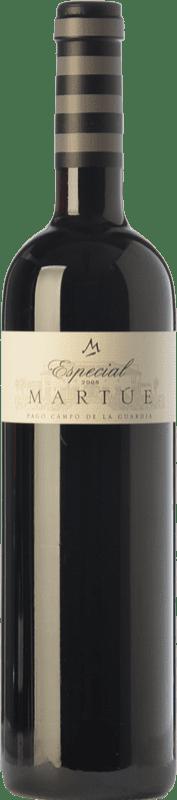 16,95 € Envoi gratuit | Vin rouge Martúe Especial Crianza D.O.P. Vino de Pago Campo de la Guardia Castilla La Mancha Espagne Merlot, Syrah, Cabernet Sauvignon Bouteille 75 cl
