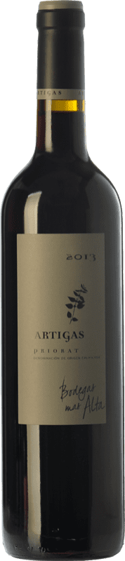 19,95 € Free Shipping | Red wine Mas Alta Artigas Crianza D.O.Ca. Priorat Catalonia Spain Grenache, Cabernet Sauvignon, Carignan Bottle 75 cl