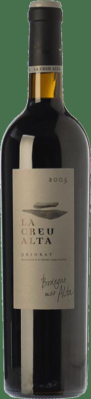 82,95 € Envío gratis | Vino tinto Mas Alta La Creu Crianza D.O.Ca. Priorat Cataluña España Garnacha, Cabernet Sauvignon, Cariñena Botella 75 cl