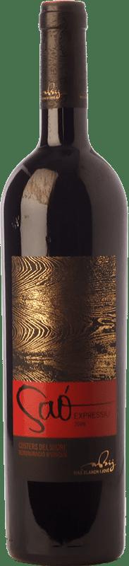 45,95 € Free Shipping | Red wine Blanch i Jové Saó Expressiu Crianza D.O. Costers del Segre Catalonia Spain Tempranillo, Grenache, Cabernet Sauvignon Magnum Bottle 1,5 L