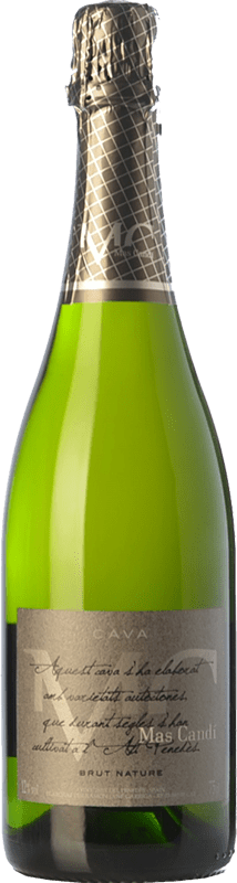 9,95 € Free Shipping | White sparkling Mas Candí Brut Nature Reserva D.O. Cava Catalonia Spain Macabeo, Xarel·lo, Parellada Bottle 75 cl