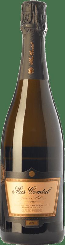 14,95 € Free Shipping | White sparkling Mas Comtal Cuvée Prestige Joan Milà Gran Reserva D.O. Penedès Catalonia Spain Xarel·lo, Chardonnay Bottle 75 cl