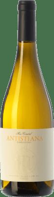 9,95 € Free Shipping | White wine Mas Comtal Antistiana D.O. Penedès Catalonia Spain Xarel·lo Bottle 75 cl