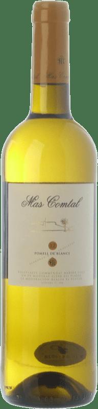 9,95 € Free Shipping | White wine Mas Comtal Pomell de Blancs D.O. Penedès Catalonia Spain Xarel·lo, Chardonnay Bottle 75 cl