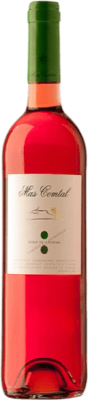 7,95 € Free Shipping | Rosé wine Mas Comtal Rosat de Llàgrima D.O. Penedès Catalonia Spain Merlot Bottle 75 cl