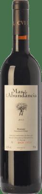 19,95 € Free Shipping | Red wine Mas de l'Abundància Crianza D.O. Montsant Catalonia Spain Grenache, Cabernet Sauvignon, Carignan Bottle 75 cl