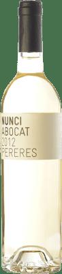 18,95 € Kostenloser Versand | Weißwein Mas de les Pereres Nunci Abocat D.O.Ca. Priorat Katalonien Spanien Grenache Weiß, Muscat von Alexandria, Macabeo Flasche 75 cl