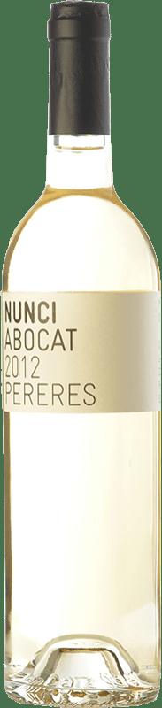 18,95 € Envoi gratuit | Vin blanc Mas de les Pereres Nunci Abocat D.O.Ca. Priorat Catalogne Espagne Grenache Blanc, Muscat d'Alexandrie, Macabeo Bouteille 75 cl