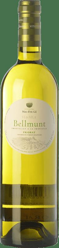 14,95 € Envío gratis | Vino blanco Mas d'en Gil Bellmunt Blanc D.O.Ca. Priorat Cataluña España Garnacha Blanca, Viognier Botella 75 cl