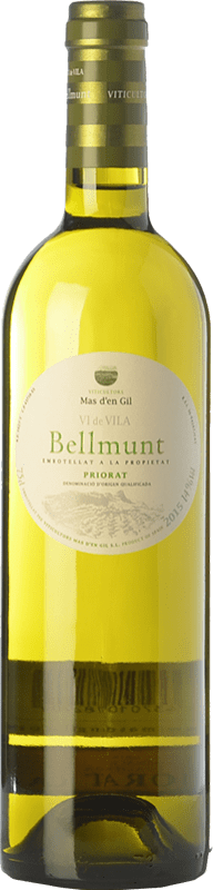 14,95 € Free Shipping | White wine Mas d'en Gil Bellmunt Blanc D.O.Ca. Priorat Catalonia Spain Grenache White, Viognier Bottle 75 cl