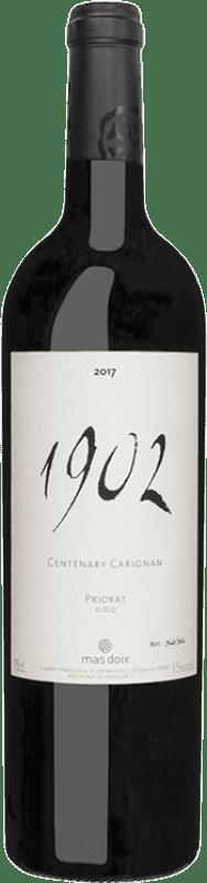 354,95 € Envío gratis | Vino tinto Mas Doix 1902 Carinyena Centenaria Crianza D.O.Ca. Priorat Cataluña España Cariñena Botella 75 cl
