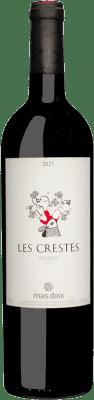 16,95 € Envío gratis | Vino tinto Mas Doix Les Crestes Joven D.O.Ca. Priorat Cataluña España Syrah, Garnacha, Cariñena Botella 75 cl