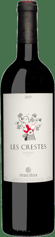 16,95 € Free Shipping | Red wine Mas Doix Les Crestes Joven D.O.Ca. Priorat Catalonia Spain Syrah, Grenache, Carignan Bottle 75 cl