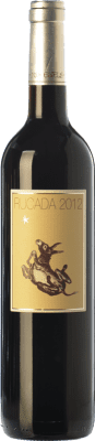 12,95 € Free Shipping | Red wine Mas Estela Rucada Crianza D.O. Empordà Catalonia Spain Syrah, Grenache, Carignan Bottle 75 cl
