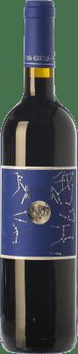 24,95 € Free Shipping | Red wine Mas Estela Vi de Lluna Crianza D.O. Empordà Catalonia Spain Syrah, Grenache, Carignan Bottle 75 cl