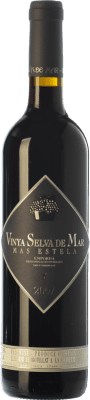 24,95 € Free Shipping | Red wine Mas Estela Vinya Selva de Mar Crianza D.O. Empordà Catalonia Spain Syrah, Grenache, Carignan Bottle 75 cl