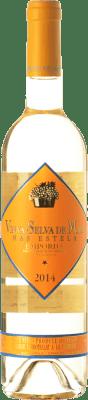 24,95 € Free Shipping | White wine Mas Estela Vinya Selva de Mar Blanc Crianza D.O. Empordà Catalonia Spain Grenache Grey, Muscat of Alexandria Bottle 75 cl